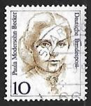 Stamps Germany -  Paula Modersohn Becker