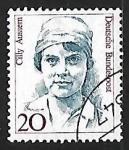Sellos de Europa - Alemania -  Cilly Aussem (1909-1963) tenista