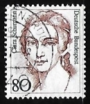 Sellos de Europa - Alemania -  Clara Schumann (1819-1896) pianista