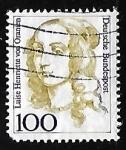 Stamps Germany -  Luise Henriette von Oranien (1627-1667)