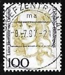 Sellos de Europa - Alemania -  Luise Henriette von Oranien (1627-1667)