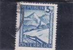 Stamps Austria -  paisaje de montaña