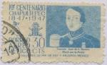 Sellos de America - México -  1er. Centenario de la Batalla de Chapultepec