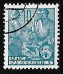 Stamps Germany -  Plan quinquenal