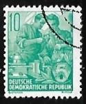Sellos de Europa - Alemania -  Plan quinquenal
