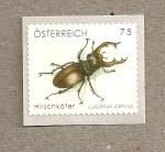 Sellos de Europa - Austria -  Ciervo volante