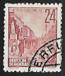 Stamps Germany -  El bulevar de los sueños rotos, parte 1 de Berlín