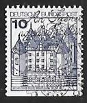 Sellos de Europa - Alemania -  Castillo de Glücksburg