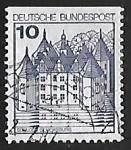 Sellos del Mundo : Europa : Alemania :  Castillo de Glücksburg
