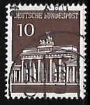 Sellos de Europa - Alemania -  Puerta de Brandenburg  - Berlin