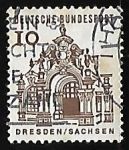 Stamps Germany -  Dresden - Sachsen