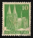 Stamps Germany -  Basilica