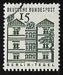 Sellos de Europa - Alemania -  Castillo de Tegel - Berlin