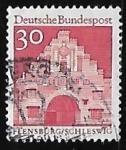 Sellos de Europa - Alemania -  Puerta de Norder - Alemania