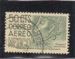 Sellos de America - México -  Arqueología en Chiapas