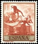 Sellos de Europa - España -  ESPAÑA SEGUNDO CENTENARIO NUEVO Nº 1216 ** 1P ROJO GOYA
