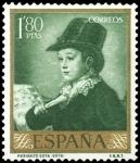 Stamps Spain -  ESPAÑA SEGUNDO CENTENARIO NUEVO Nº 1217 ** 1,8P VERDE AMARILLENTO GOYA