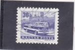 Sellos de Europa - Hungría -  autocar turístico