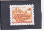 Stamps Hungary -  autocar