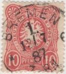 Sellos de Europa - Alemania -  Y & T Nº 38