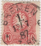 Stamps Germany -  Y & T Nº 38