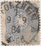 Stamps Germany -  Y & T Nº 39