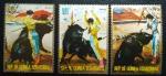 Sellos del Mundo : Africa : Guinea_Ecuatorial : Corrida de Toros