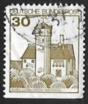 Stamps Germany -  Castillo de Stronghold Ludwigstein
