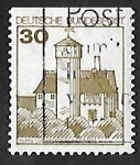 Sellos de Europa - Alemania -  Castillo de Stronghold Ludwigstein