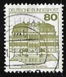 Stamps Germany -  Wilhelmsthal Castle