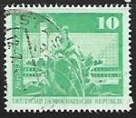 Stamps Germany -  Rathausstraße (Berlin)