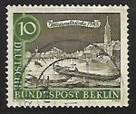Stamps Germany -  Playa con barcos