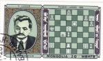 Stamps Mongolia -  partida ajerez-PILSBERI-LASKER