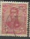 Stamps : America : Argentina :  San Martin Ovalo