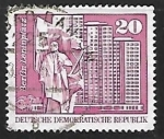 Stamps Germany -  Monumento a Lenin