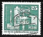 Stamps Germany -  Plaza de Alexander Platz en Berlin