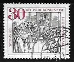 Sellos de Europa - Alemania -  Martin Luther y el  Kaiser Karl V