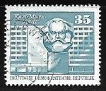 Sellos de Europa - Alemania -  Karl Marx