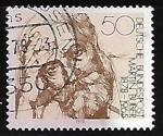 Sellos de Europa - Alemania -  Martin Buber 1878-1965