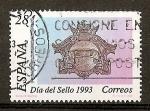 Stamps Spain -  Dia del Sello./ Buzon de 1908.