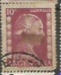 Sellos de America - Argentina -  Eva Peron