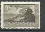 Stamps : America : Argentina :  Plan Quinquenal