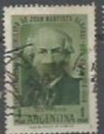 Sellos de America - Argentina -  150 años del nacimiento de Juan Bautista Alberdi