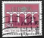 Sellos de Europa - Alemania -  Europa - puente