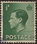 Sellos de Europa - Reino Unido -  King Edward VIII  1936  1/2 penique