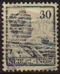 Stamps Netherlands -  HOLANDA INDIAS Netherlands Indies 1914 Scott 127 Sello Reina Guillermina Wilkelmina usado