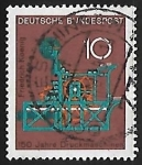 Stamps Germany -  150 años de la impresora
