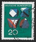 Stamps Germany -  Tecnica y ciencia