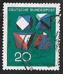 Sellos de Europa - Alemania -  Tecnica y ciencia