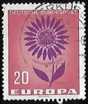 Stamps Germany -  Europa - flor
